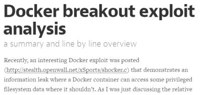 shocker
